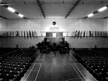 Photo:The sports stadium at Stoke Mandeville had opened  in 1969. It was now 15 years old and far too small for an Olympic venue.