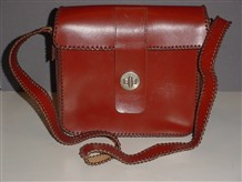 Photo:Leather bag made in OT in 1964