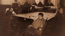 Photo:Billiards at the Royal Star and Garter Home, early 1940s