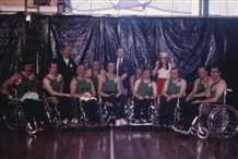 Photo:The GB team that beat the Dutch in the IWBF final